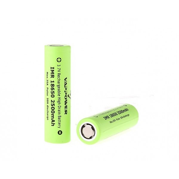 VAP POWER BATTERY 18650 35A 2500MAH