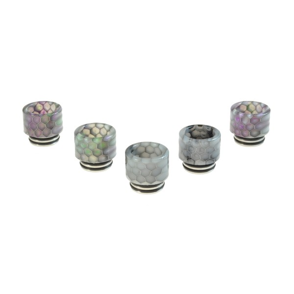 RESIN SNAKESKIN 810 DRIP TIP FOR SMOK TFV8/TFV12
