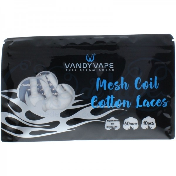 VANDY VAPE MESH COIL COTTON LACES