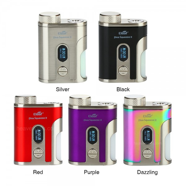 ELEAF ISTICK PICO SQUEEZE 2 + 21700 (INCLUDED)