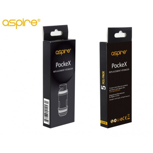 ASPIRE POCKEX  POCKET AIO REPLACEMENT COILS