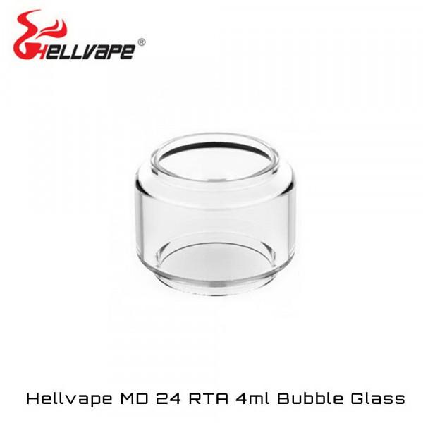 HELLVAPE MD RTA BUBBLE GLASS