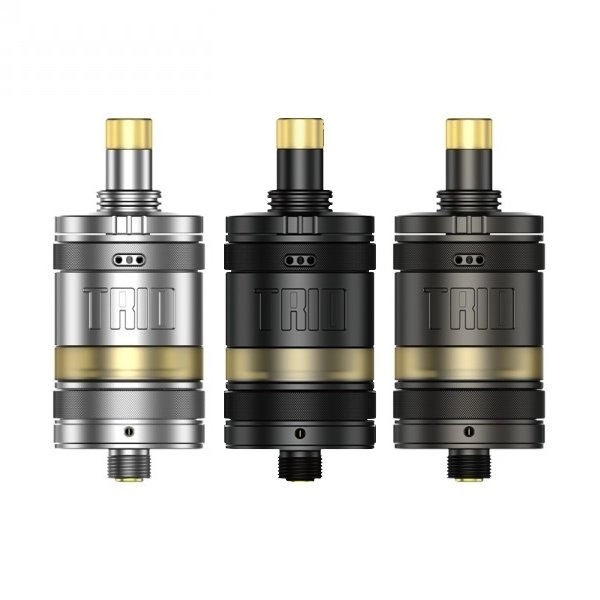 TRIO MTL RTA 22MM BY ZQ VAPOR