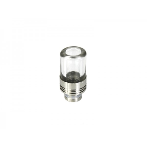PYREX GLASS STAINLESS STEEL 510 DRIP TIP