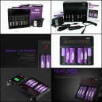 EFEST LUC V6 LCD MULTI FUNCTION CHARGER