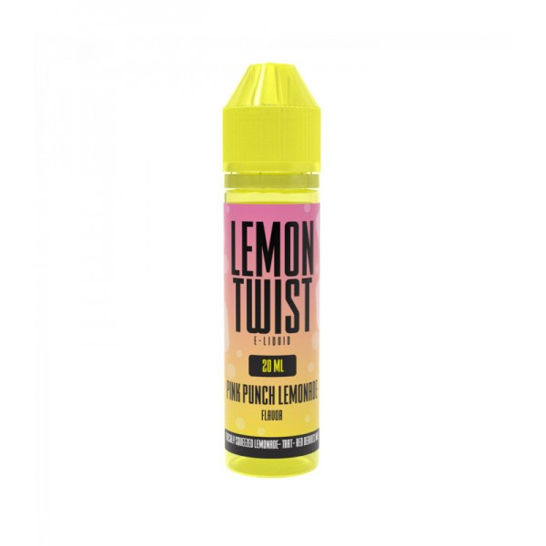 TWIST E-LIQUIDS PINK PUNCH LEMONADE FLAVOR SHOTS