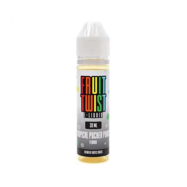TWIST E-LIQUIDS TROPICAL PUCKER PUNCH  FLAVOR SHOTS