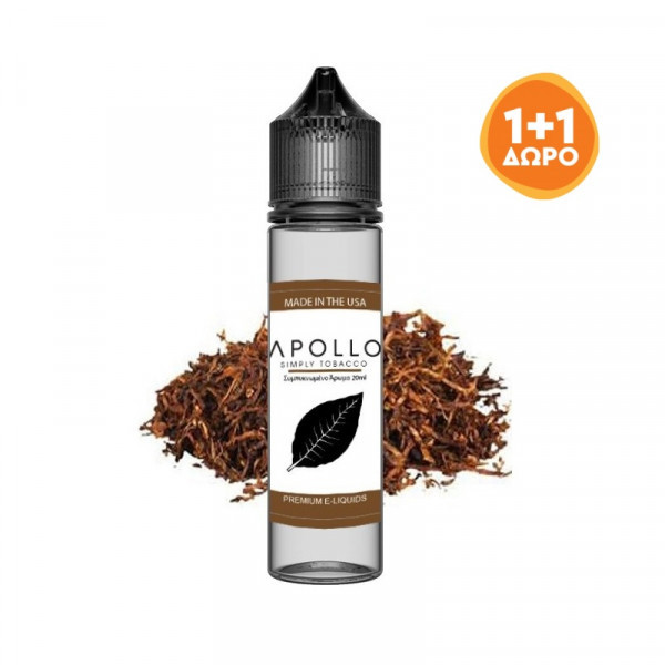 APOLLO SIMPLY TOBACCO FLAVOR SHOT