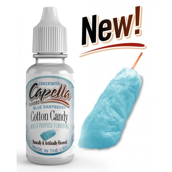 CAPELLA BLUE RASPBERRY COTTON CANDY FLAVOR