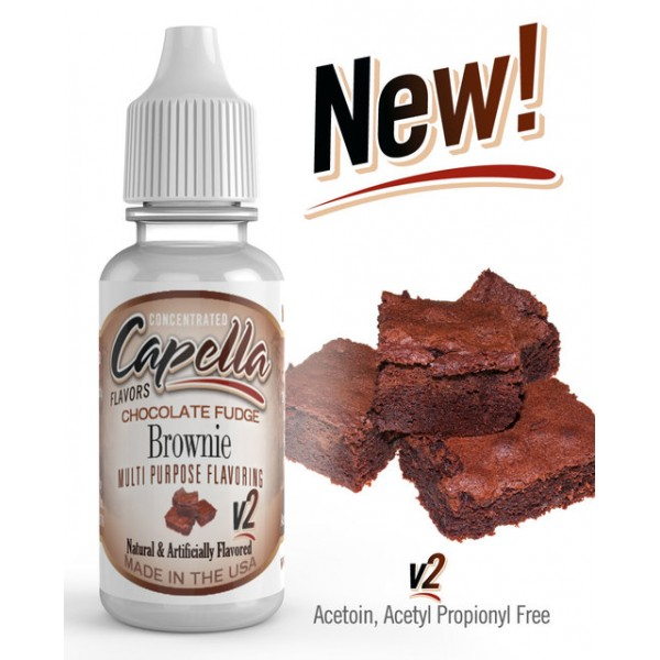 CAPELLA CHOCOLATE FUDGE BROWNIE V2 FLAVOR