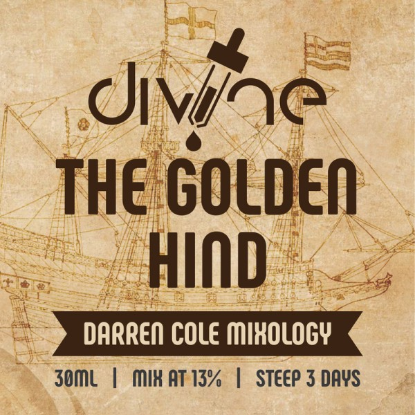 DIVINE SHOTS THE GOLDEN HIND 30ML