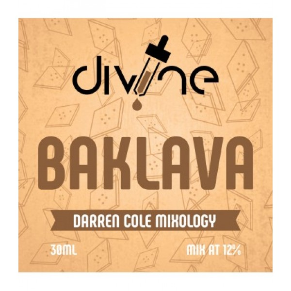 DIVINE SHOTS BAKLAVA 30ML