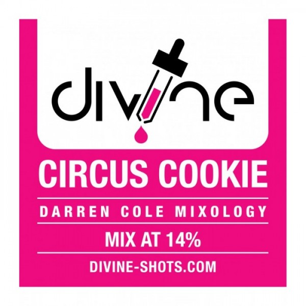 DIVINE SHOTS CIRCUS COOKIE 30ml