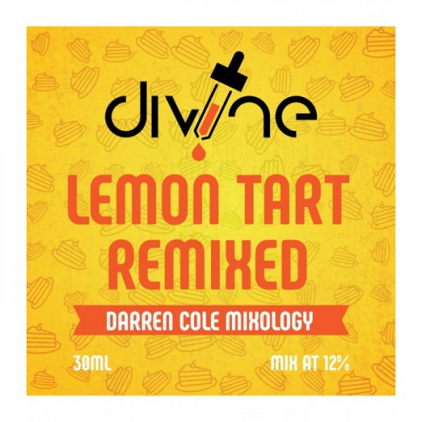 DIVINE SHOTS LEMON TART REMIXED 30ml