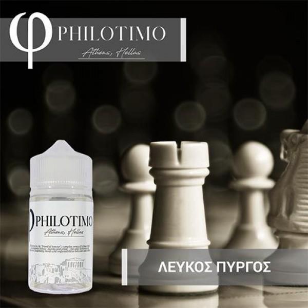 PHILOTIMO ΛΕΥΚΟΣ ΠΥΡΓΟΣ FLAVOR SHOT